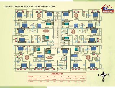 Project Image of 653 - 973 Sq.ft 2 BHK Apartment for buy in Sk Rajdeo Encalve