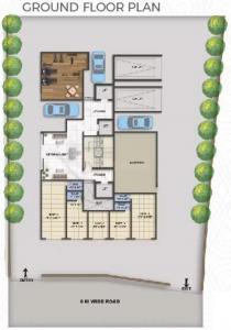 एंकर एंकर रेसिडेंसी में खरीदने के लिए 477.0 - 701.0 Sq.ft 1 BHK अपार्टमेंट प्रोजेक्ट  की तस्वीर