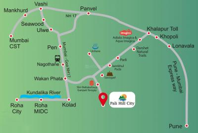 Project Image of 1558.4 - 3733.68 Sq.ft Residential Plot Plot for buy in Malpani Pali Hill City