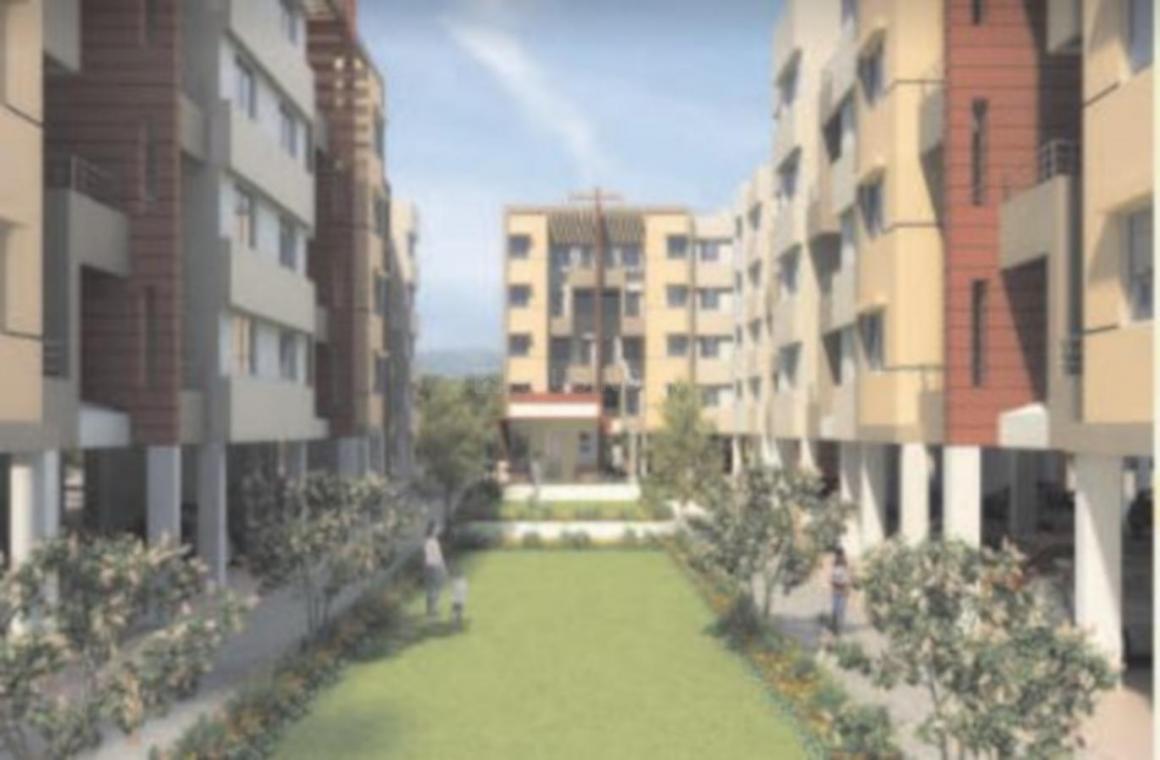 Project Image of 350.58 - 664.56 Sq.ft 1 BHK Apartment for buy in Rakshak Vatika A B C Wings