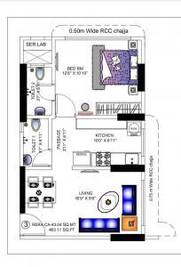 सिद्धार्थ नगर स्वामी विवेकानंद सीएचएसएल में खरीदने के लिए 463.28 - 665.21 Sq.ft 1 BHK अपार्टमेंट प्रोजेक्ट  की तस्वीर