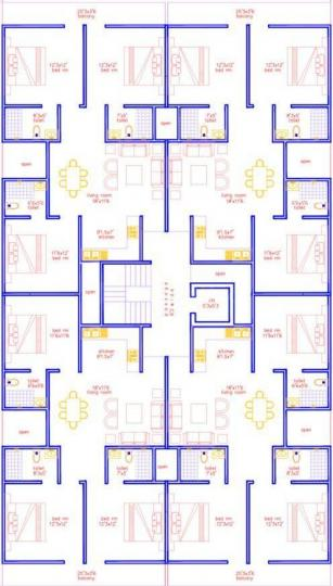 Project Image of 0 - 1200.0 Sq.ft 3 BHK Apartment for buy in Surendra Bharat Homes