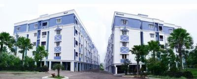 Gallery Cover Image of 826 Sq.ft 2 BHK Apartment for rent in Baashyaam Navaratana, Chromepet for 13000