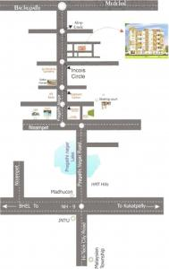 Project Image of 0 - 1175 Sq.ft 2 BHK Apartment for buy in Vaishnavi Sai Green Heights