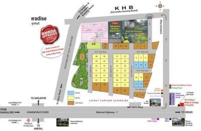 Residential Lands for Sale in Abhyudaya Sahasthra Paaradise