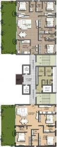 Gallery Cover Image of 2209 Sq.ft 3 BHK Apartment for buy in Salarpuria Sattva Victoria Vistas, Bhowanipore for 27600000