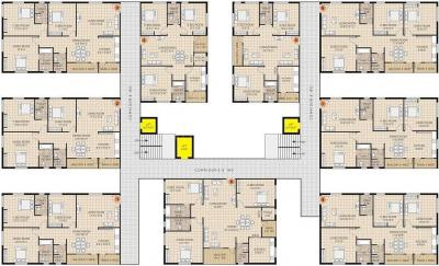 Gallery Cover Image of 1850 Sq.ft 3 BHK Apartment for rent in Koven Surya Towers, Kothaguda for 12500