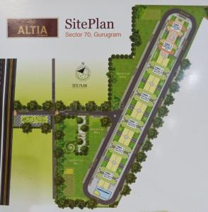 Gallery Cover Image of 510 Sq.ft 1 BHK Apartment for buy in Pyramid Altia, Sector 70A for 1396320