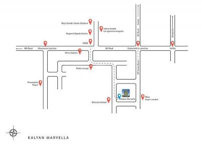 Project Image of 1479 - 2019 Sq.ft 2 BHK Apartment for buy in Kalyan Marvella