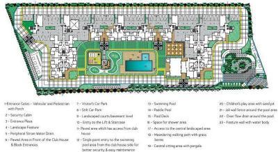 Gallery Cover Image of 1480 Sq.ft 3 BHK Apartment for rent in Bren Corporation Bren Avalon, Kartik Nagar for 25000