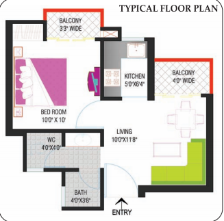 Project Image of 915.0 - 2380.0 Sq.ft 2 BHK Apartment for buy in Nimbus Hyde Park