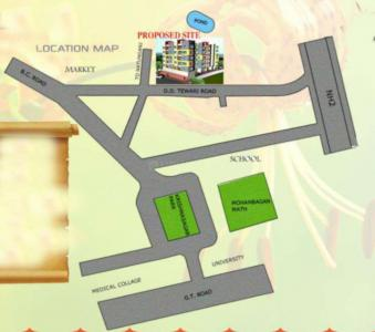Project Image of 962 - 1081 Sq.ft 3 BHK Apartment for buy in Narayan Abas