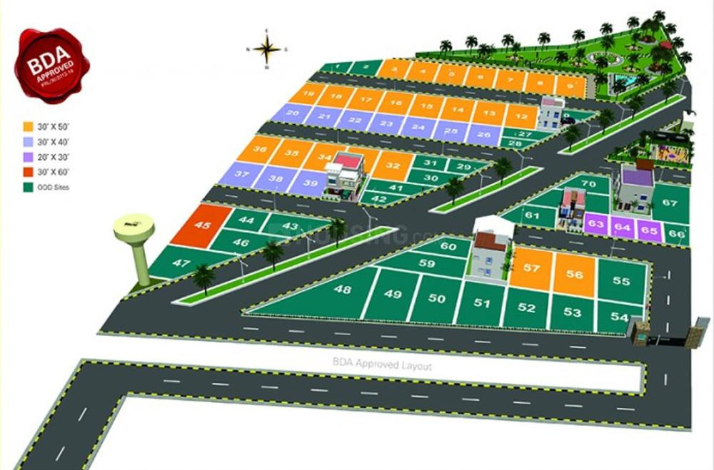Project Image of 600 - 2400 Sq.ft Residential Plot Plot for buy in Bhagini Golden Threshold