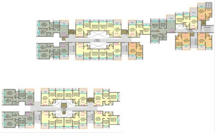 Project Image of 592.0 - 1174.0 Sq.ft 1 BHK Apartment for buy in Center Point
