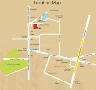 Project Image of 1840 Sq.ft 3 BHK Apartment for buyin Kothaguda for 12880000