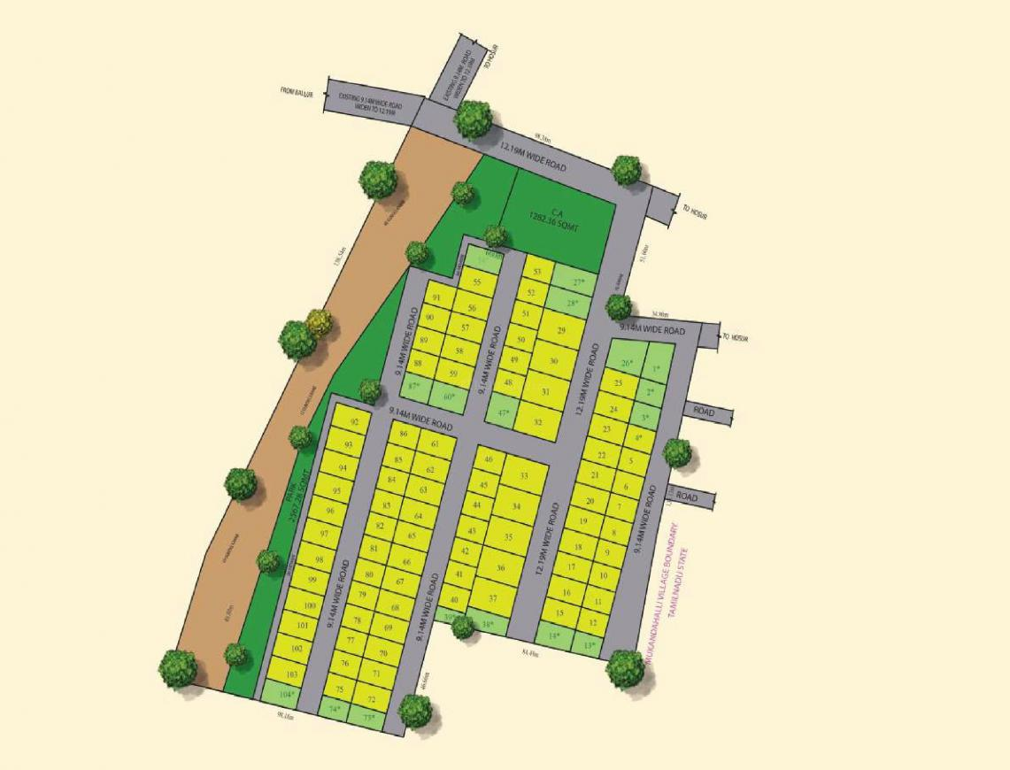 Project Image of 727.43 - 2110.26 Sq.ft Residential Plot Plot for buy in Jay Pee Jay Pee Serenity