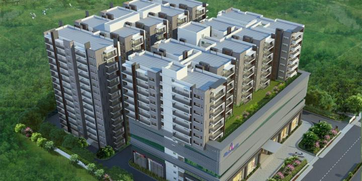 Project Image of 1910.0 - 2975.0 Sq.ft 3 BHK Apartment for buy in Jain Sri Ram Garden