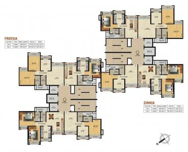 Project Image of 442 - 635 Sq.ft 1 BHK Apartment for buy in Mukta Residency Phase 2