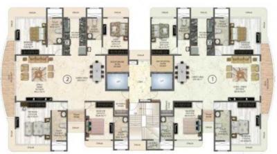 स्पार्क ज्योति पैलेस में खरीदने के लिए 2088.0 - 2228.0 Sq.ft 4 BHK अपार्टमेंट प्रोजेक्ट  की तस्वीर