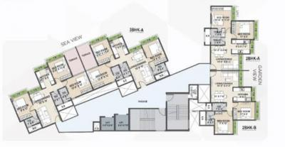 Project Image of 1163.0 - 1494.0 Sq.ft 2 BHK Apartment for buy in Tricity Eros