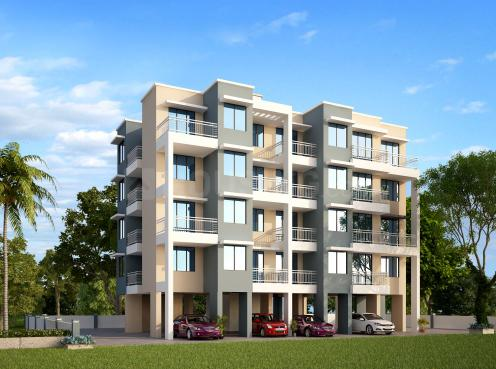 Project Image of 390 - 441 Sq.ft 1 BHK Apartment for buy in Shramik Vaibhav