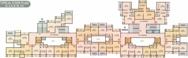Project Image of 193.0 - 304.0 Sq.ft 1 BHK Apartment for buy in Royal Plaza