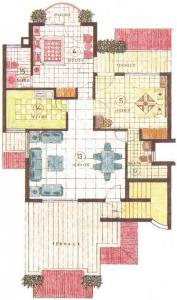 अंसल शालीमार रेसिडेंसी फ्लोर्स में खरीदने के लिए 985.0 - 1362.0 Sq.ft 1 BHK अपार्टमेंट प्रोजेक्ट  की तस्वीर