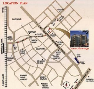 Project Image of 0 - 930 Sq.ft 2 BHK Apartment for buy in Kothari Vinay Hermitage
