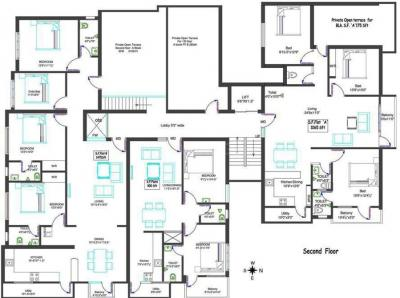 Project Image of 900.0 - 1560.0 Sq.ft 2 BHK Apartment for buy in VJS Kumaran Ousadhaa