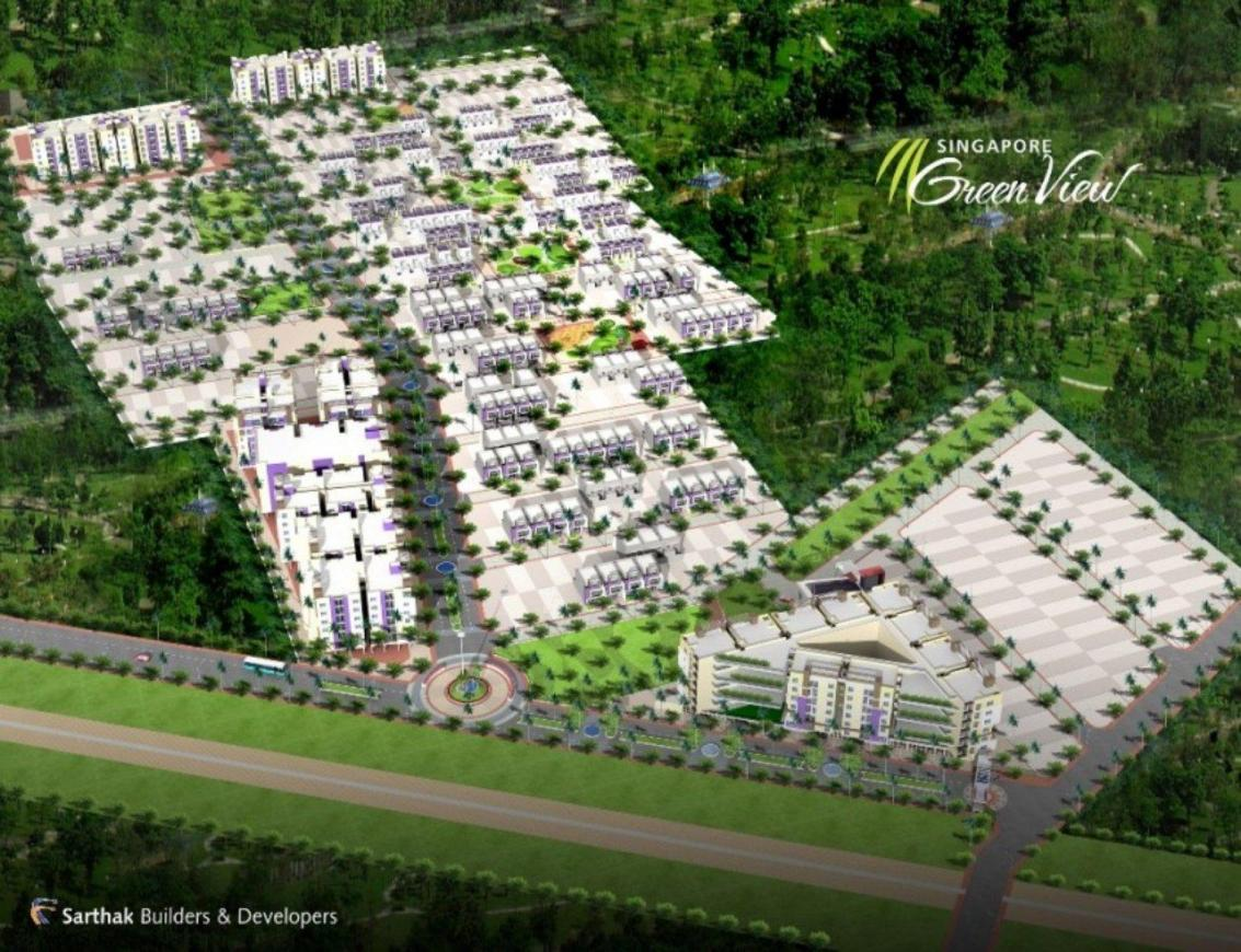 Project Image of 650 - 1000 Sq.ft Residential Plot Plot for buy in Sarthak Singapore Green View Plots