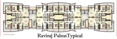 Project Image of 975 - 1300 Sq.ft 2 BHK Apartment for buy in Marwin Raviraj Palms