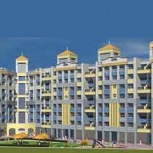 Gallery Cover Image of 1000 Sq.ft 2 BHK Apartment for buy in Goodwill Goodwill Gardens, Kharghar for 8450000