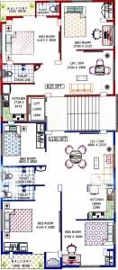Project Image of 825.0 - 1150.0 Sq.ft 2 BHK Apartment for buy in Saraswati Apartment