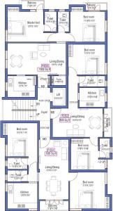 Project Image of 809.0 - 1258.0 Sq.ft 2 BHK Apartment for buy in Anu Gowsalya Flats