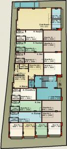 Project Image of 658.0 - 1305.0 Sq.ft 2 BHK Apartment for buy in Arabinda Apartment