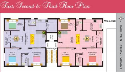 Project Image of 0 - 1120.0 Sq.ft 3 BHK Apartment for buy in Eeshani Poorna