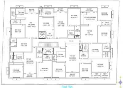 Project Image of 872.0 - 1156.0 Sq.ft 2 BHK Apartment for buy in Mantra Yogesh II