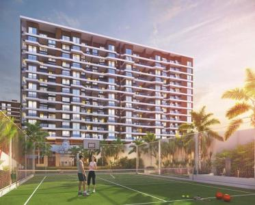 Gallery Cover Image of 650 Sq.ft 1 BHK Apartment for rent in Shree Sonigara Signature Park G And H Building, Thergaon for 16000