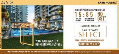 टाटा हाउसिंग ला विदा में खरीदने के लिए 880.0 - 917.0 Sq.ft 2 BHK अपार्टमेंट प्रोजेक्ट  की तस्वीर