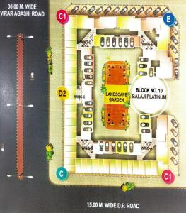Project Image of 545.0 - 810.0 Sq.ft 1 BHK Apartment for buy in Baba Time Balaji Platinum
