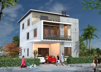 Project Image of 3355.86 - 3813.56 Sq.ft 3 BHK Villa for buy in Shantasriram Brookwoods