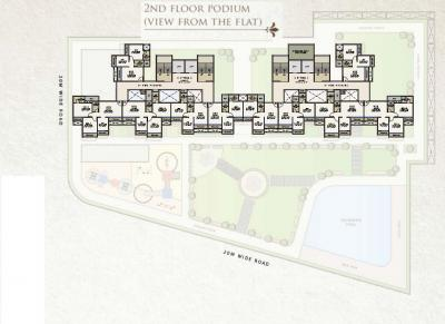 Gallery Cover Image of 650 Sq.ft 1 BHK Apartment for buy in Sai Proviso Icon, Kalamboli for 5800000
