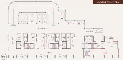 Project Image of 419.0 - 628.0 Sq.ft 1 BHK Apartment for buy in Dharti Pressidio