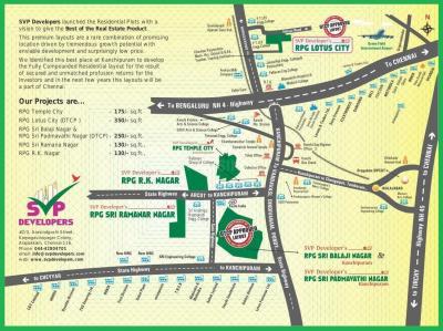 Residential Lands for Sale in SVP RPG Sri Ramanar Nagar
