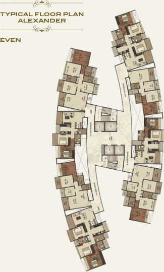 Project Image of 764.0 - 2013.0 Sq.ft 2 BHK Apartment for buy in Paradise Sai World Empire