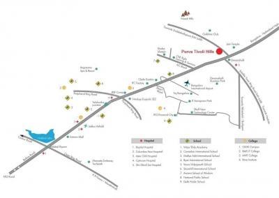 Project Image of 1200.0 - 3200.0 Sq.ft Residential Plot Plot for buy in Puravankara Tivoli Hills