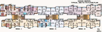Gallery Cover Image of 1200 Sq.ft 2 BHK Apartment for rent in Vasai East for 12500