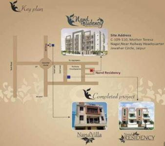 Project Image of 680.0 - 1080.0 Sq.ft 1 BHK Apartment for buy in Nand Residency