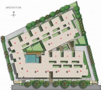 एएसएन सेरेनिटी में खरीदने के लिए 1032.0 - 1365.0 Sq.ft 2 BHK अपार्टमेंट प्रोजेक्ट  की तस्वीर