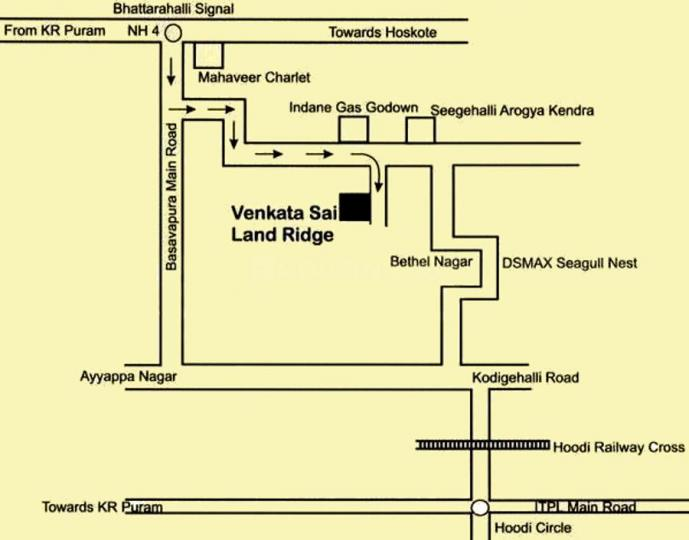Project Image of 1151.0 - 1932.0 Sq.ft 2 BHK Apartment for buy in Venkatasai Land Ridge